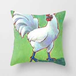 Bresse Rooster Throw Pillow
