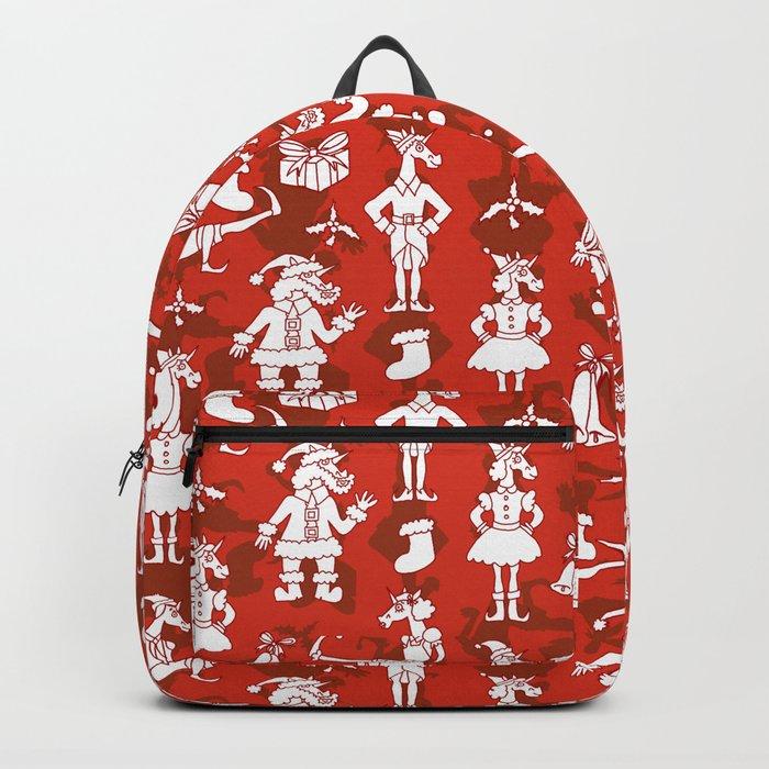 Christmas Unicorns Backpack