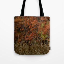 Lost in Vermillion No.3 Tote Bag
