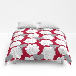 Alabama crimson Comforters