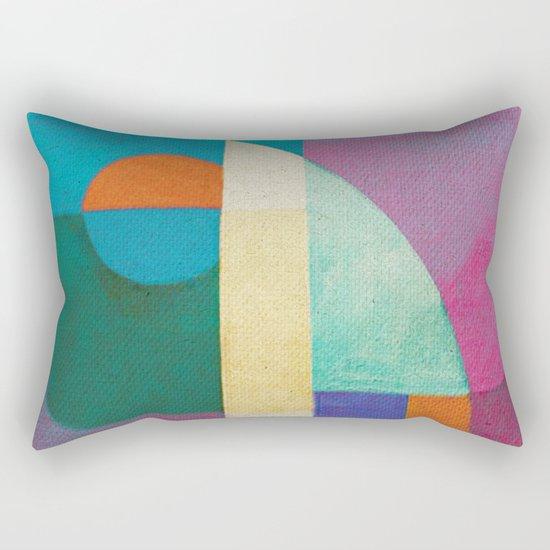 Una Regata Colorata Rectangular Pillow