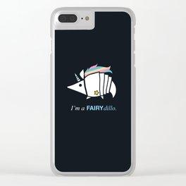 Armadillos Epidemy - Fairy'dillo Clear iPhone Case