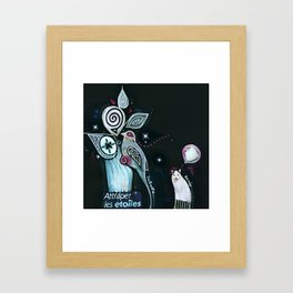 chacun son rêve Framed Art Print