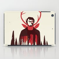 hannibal iPad Cases featuring Hannibal by Risa Rodil