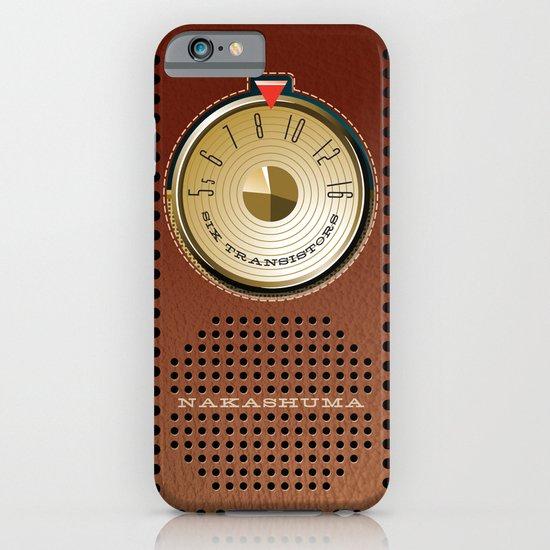 NAKASHUMA Mark Three with Leatherette Case iPhone & iPod Case