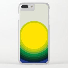 Halo Sun Clear iPhone Case