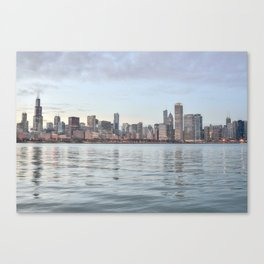 Chicago Sunset Canvas Print