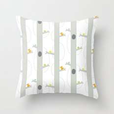 The Afternoon Throw Pillow