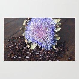 Coffeebeans & Artichoke Rug