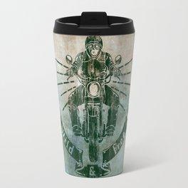 Wild and Free Motorbike Rider Travel Mug