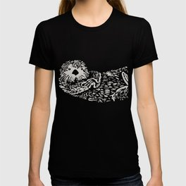 The handsome sea otter T-shirt