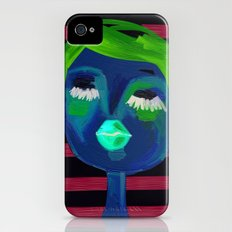 portrait of a girl  iPhone (4, 4s) Slim Case