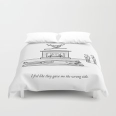 The Wrong Side Duvet Cover