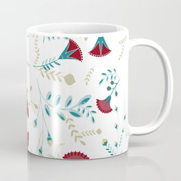 Egyptian Papyrus Flowers Coffee Mug