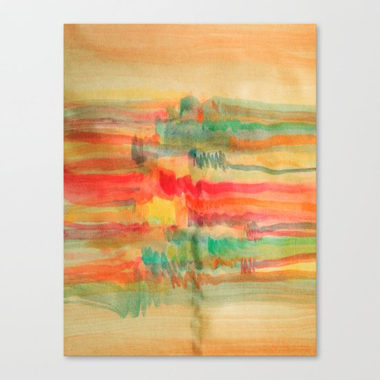 Watercolor/Abstract 2 Canvas Print