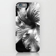 Fleur blanche de Hawaii iPhone 6 Slim Case