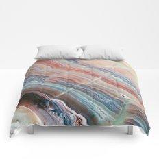 Pastel Onyx Marble Comforters