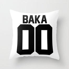 Team Baka Inspired Shirt Throw Pillow