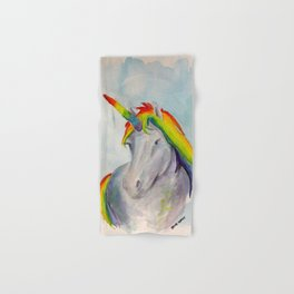 Rainbow Unicorn Two Hand & Bath Towel