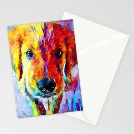 Golden Retriever Puppy Stationery Cards