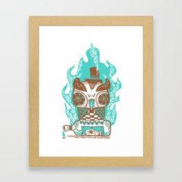Good to the Last Drop - Chocqua Owl Framed Art Print