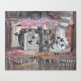 FLOWN Canvas Print