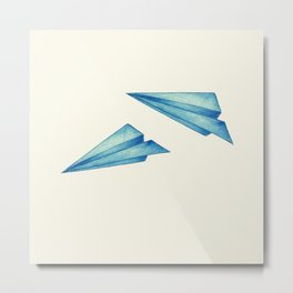 High Flyer | Origami | Simplified Metal Print