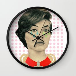 for your information there's an inflammation in my tear gland Wall Clock