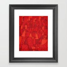 Citystreet Framed Art Print