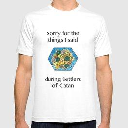 Catan, Settlers of Catan, Board Game, Geek Art, Nerd Art T-shirt