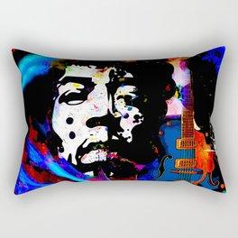 GUITAR MAN FEEL THE MUSIC KISS THE SKY Rectangular Pillow