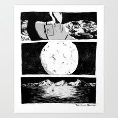 The Last Breath Art Print