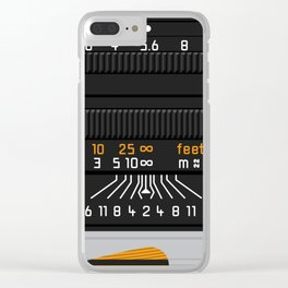 Leica 50mm Clear iPhone Case