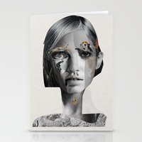 lara croft Stationery Cards featuring Lara by Zaneta Antosik