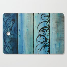 Four Waters Come to Life Cutting Board