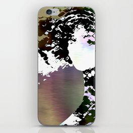 LADY-SILEX-1 iPhone Skin