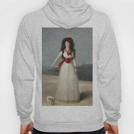 """Francisco Goya """"Duchess of Alba - The White Duchess"""" Hoody"""