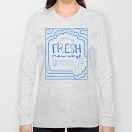 Fresh New Ways – Blueberry Long Sleeve T-shirt