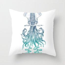 Agave Calamaris Throw Pillow