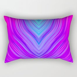 stripes wave pattern 3 sm120i Rectangular Pillow