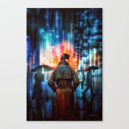 Blade Runner 2049 – The City (2017) Canvas Print
