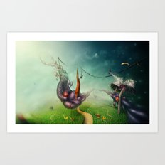 Freedom Fields Art Print