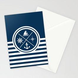 Sailing symbols Stationery Cards