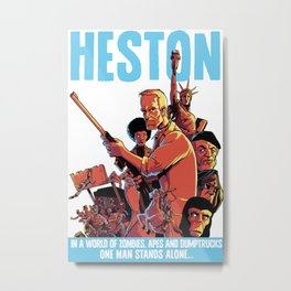 Heston! Metal Print
