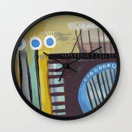 Lineas y Circulos 5 Wall Clock