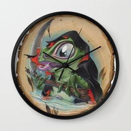 Grimm Ribbit Wall Clock