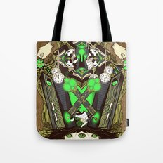 Molly Can't Make Up Her Mind Tote Bag