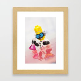 Experiment Gone Wrong - LEGO Framed Art Print