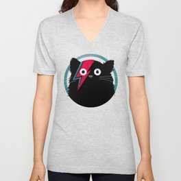 Cat Bowie Unisex V-Neck