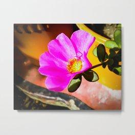 Nippon Flower Metal Print